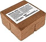 70 L Kokosblumenerde Quellerde - 5 kg Kokos Brikett