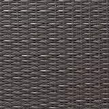 Pflanzwand Polyrattan grau/braun 80cm hoch - 2