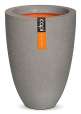 Capi KGR782 Blumenkübel Vase 36x47cm Grau