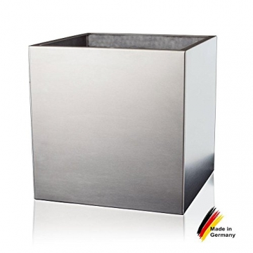 pflanzk bel cubo 60 edelstahl geb rstet 60x60x60 cm. Black Bedroom Furniture Sets. Home Design Ideas