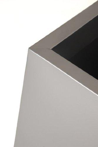 Pflanzkübel Elemento Zink 90x75x25 - Pflanzkuebel-Vergleich.de